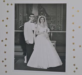 Richard and Yvonne's Golden Anniversary