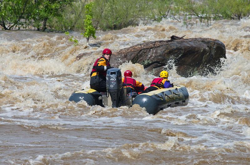 Richmond Fire Department River Training