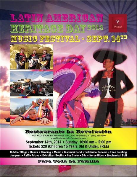 Latin Heritage Day @La Revolucion