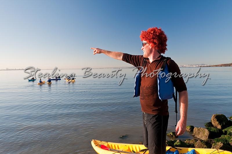 Fearless redheaded leader