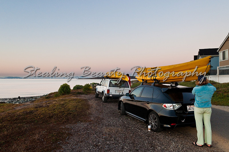 Bay dawn arrival
