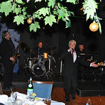 Rick Poppe Cosmic Crooner Christmas Show at DeSteffano's Restaurant in Las Vegas in photograph.Pictures and image gallery ReallyVegas by Mark Bowers.