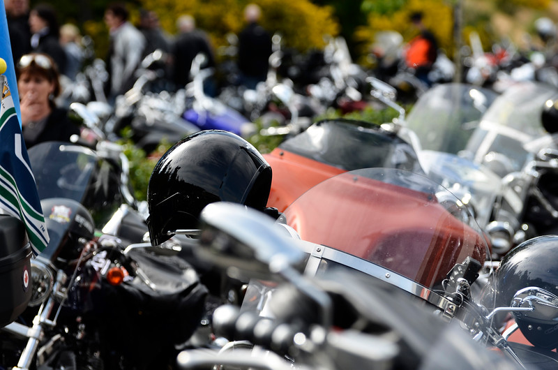 2012 West Coast Motor Cycle ride To Live
