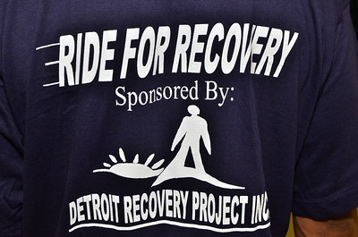 Ride for Recovery sponsored by the Detroit Recovery Project