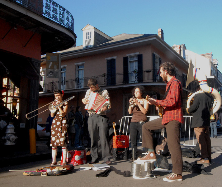 French Quarter -Street Band 4