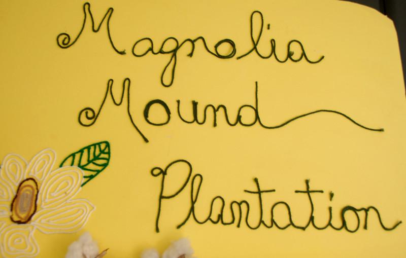 Magnolia Mound Plantation - Sign