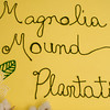 Magnolia Mound Plantation - Sign