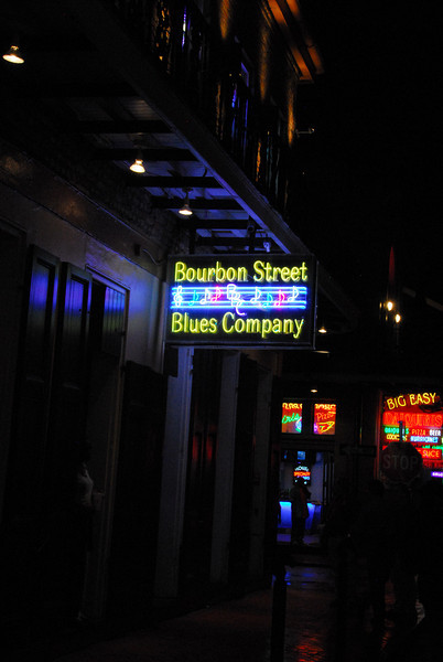 French Quarter - Bourbon Street sign II