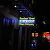 French Quarter - Bourbon Street sign II
