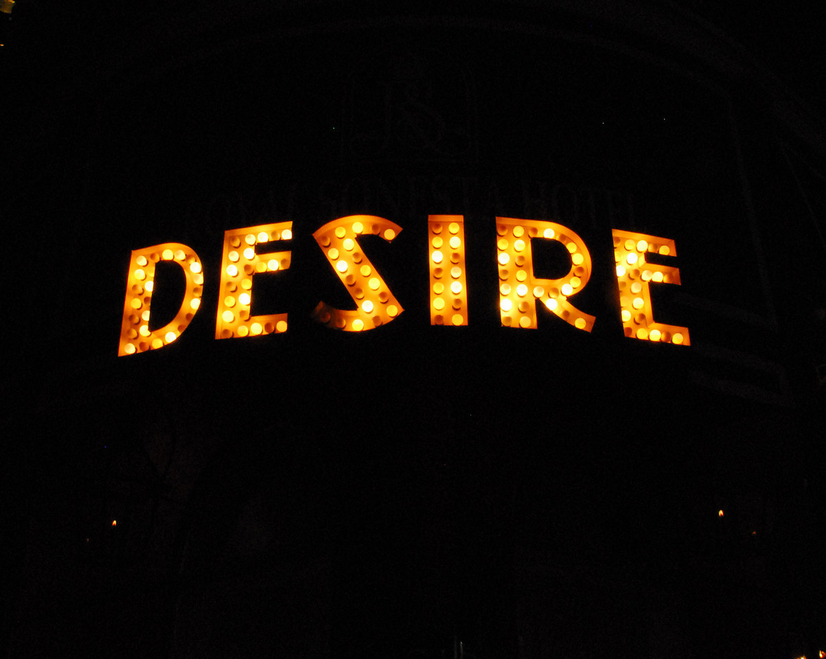 French Quarter - Desire sign