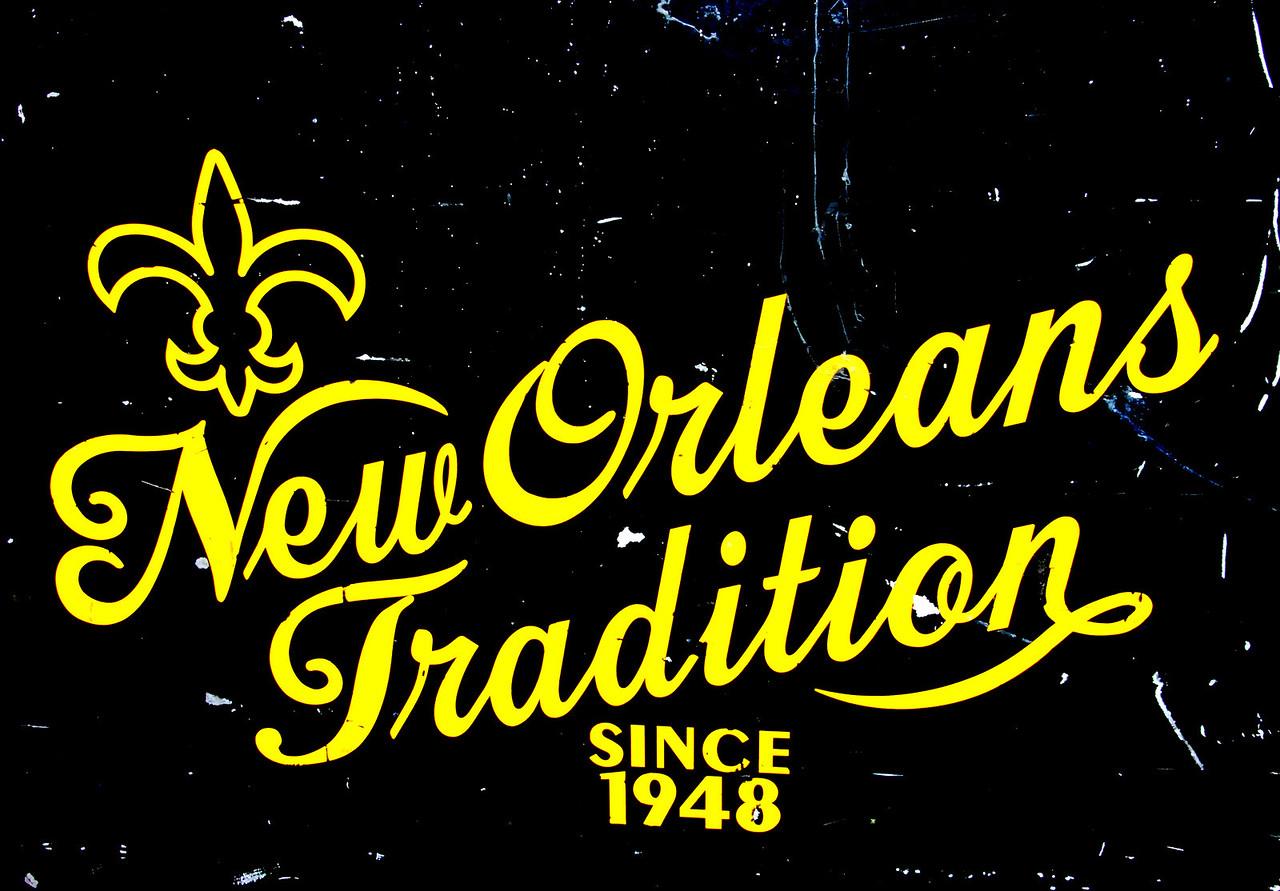 French Quarter - NOLA sign