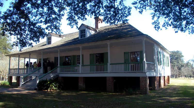 Magnolia Mound Plantation - Main House