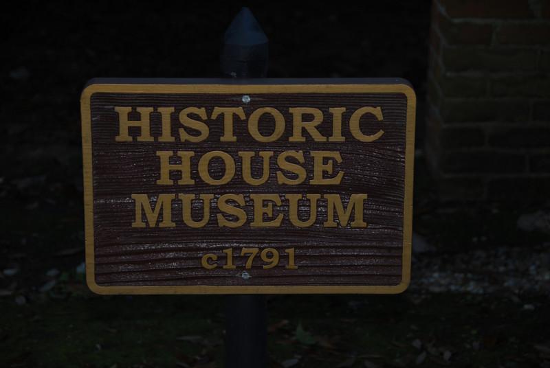 Magnolia Mound Plantation - Main House Plaque
