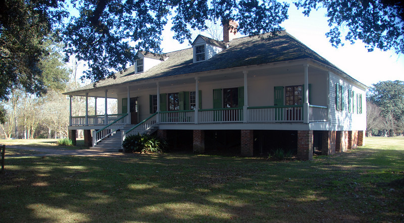 Magnolia Mound Plantation - Main House II
