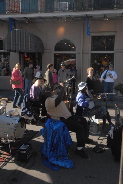 French Quarter - Street Band - Clarinet