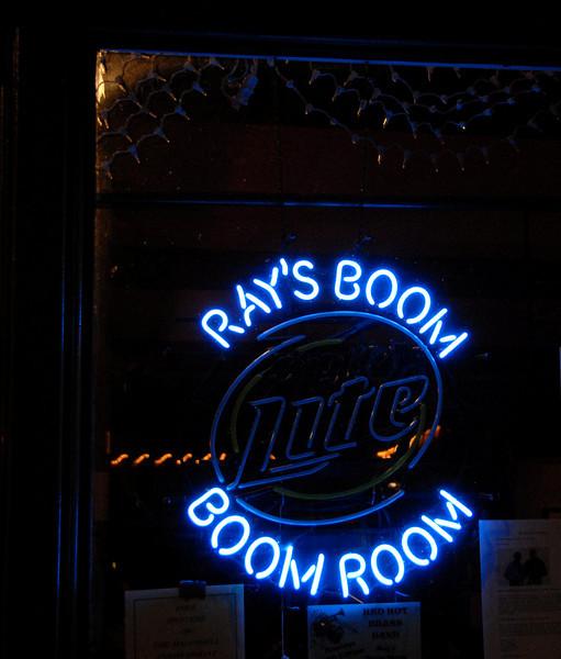 Ray's Boom Boom Room - Sign