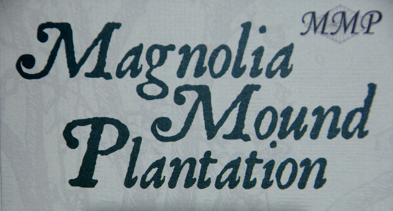 Magnolia Mound Plantation - Sign II