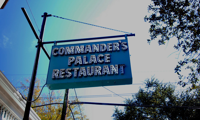 Commander's Palace - Sign