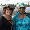 Mardi Gras - Iris & Friend