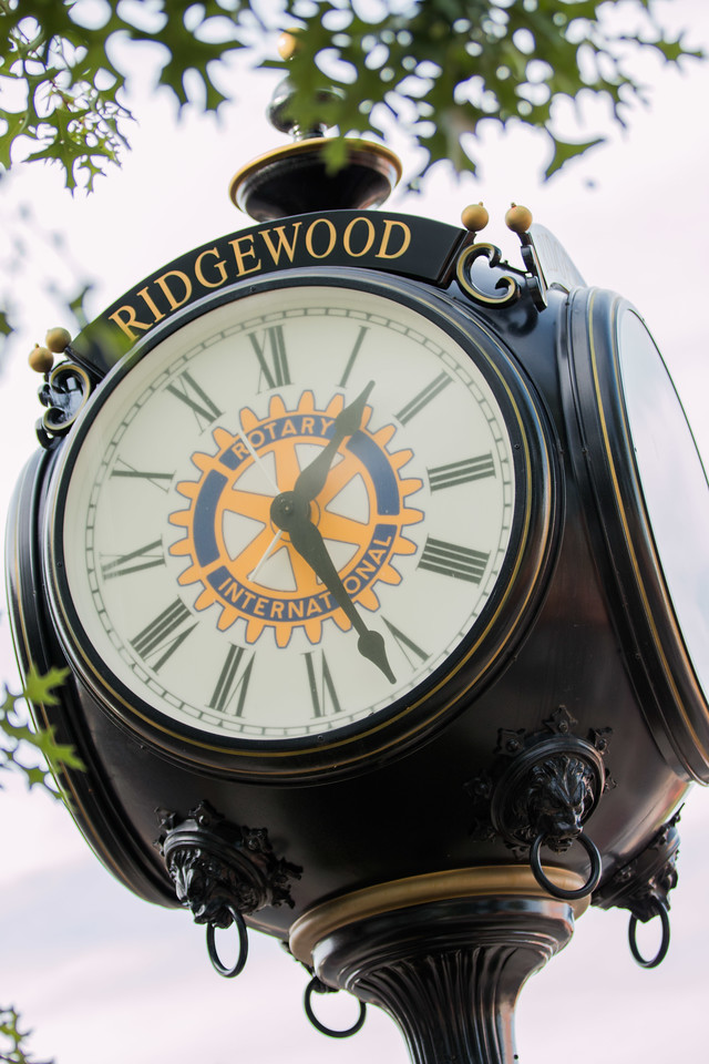 Ridgewood NJ clock