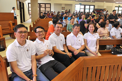Rite Of Election at IHM 2014