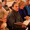 KRISTOPHER RADDER - BRATTLEBORO REFORMER <br /> Dr. Kathy Bullock leads the River Singers during a rehearsal on Tuesday, May, 9, 2017, for their 25th Anniversary Spring Concert at the The Congregational Church of Westminster West on Saturday.