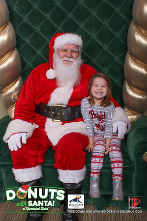 Riverwind Donuts With Santa 2016