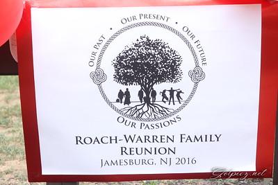Roach & Warren Family Reunion 8-21-16