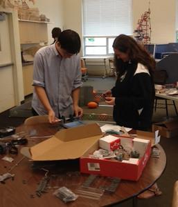 Robotics Club (Fall 2014)
