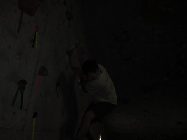2009/12/03 Rock Gym