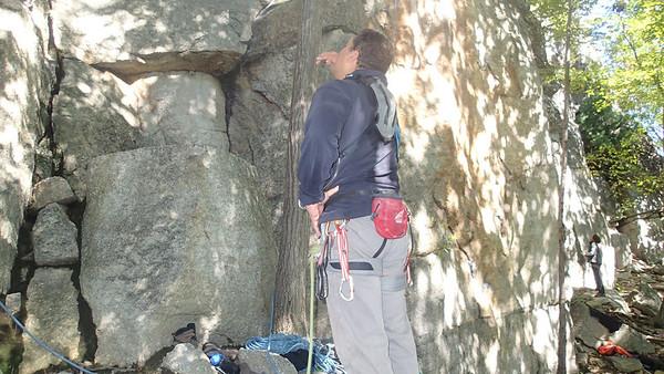 2012/09/23 Climbing Gunks