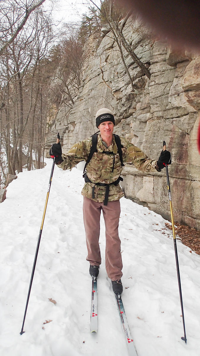 2014/03/08 Ski Climbing