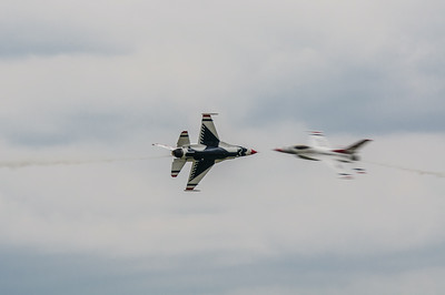 Thunderbirds Opposite Pass