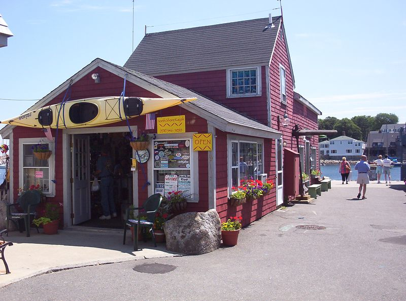 North Shore Kayak Outdoor Center<br /> 9 Tuna Warf(Bearskin Neck)<br /> Rockport, MA