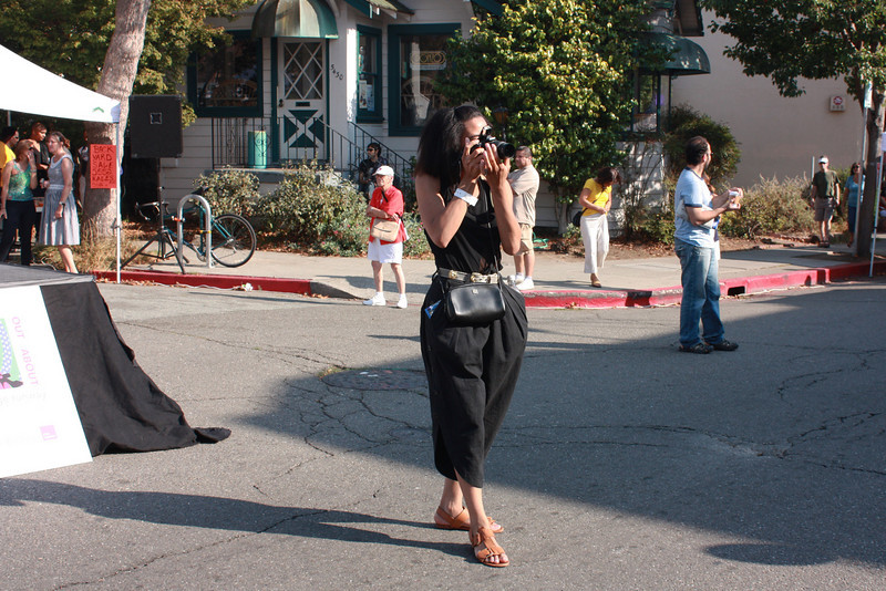 Photographing the photographer!