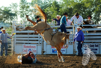 Ashley, ND PRCA August 5, 2012