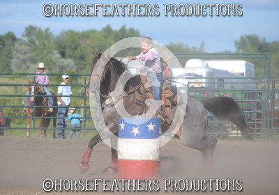 Ft. Totten Roughrider Rodeo July 27, 2013
