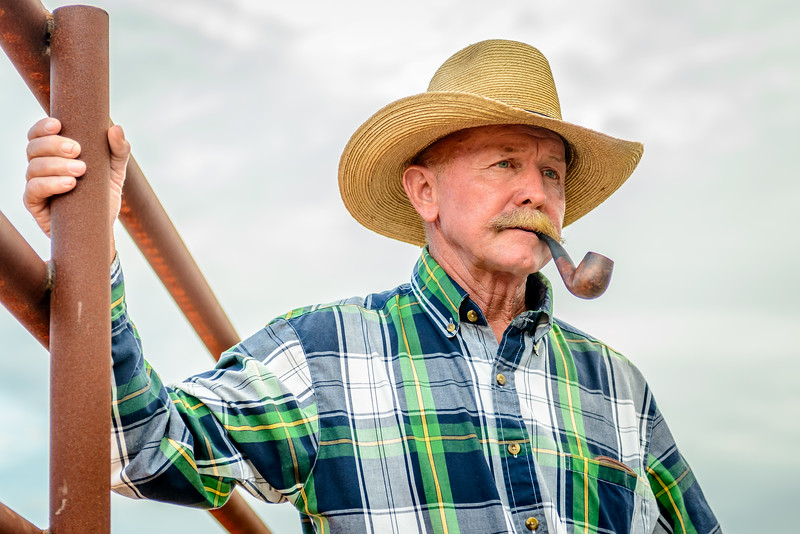 Just looks the part of a Florida Rancher