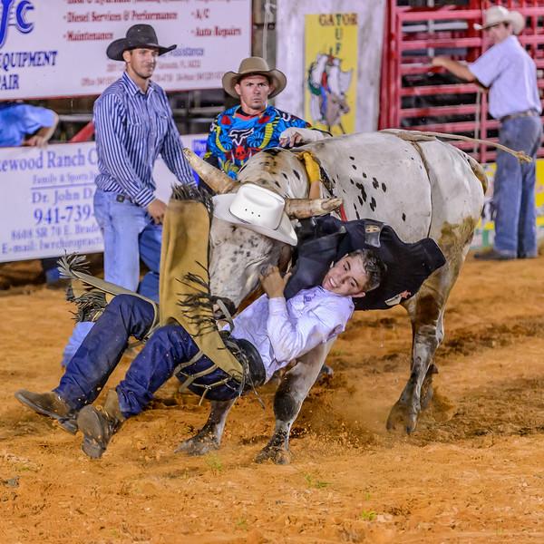 Bull Riding at Circle S 9/15/2012