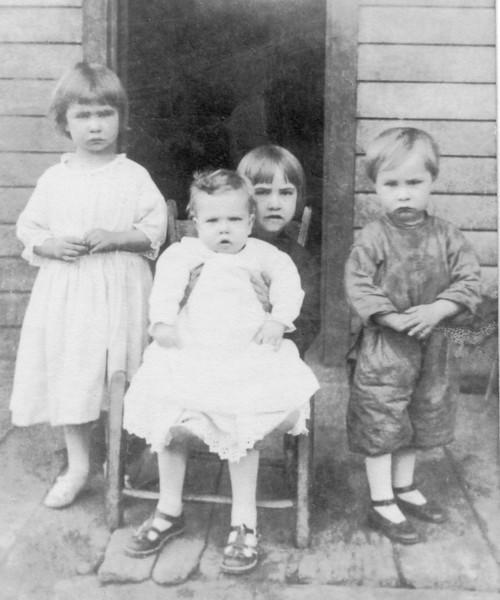 Lorena, Helen holding Jack, Herschell
