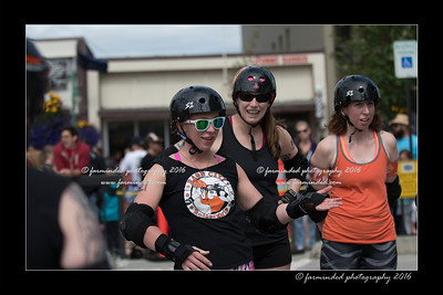 Rage City Roller Girls at Summer Solistace - 2016