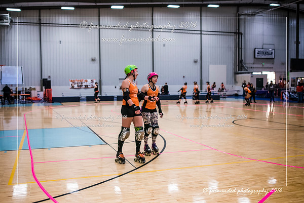 10/22/2016 - Orange Crush Vs Fairbanks Rollergirls