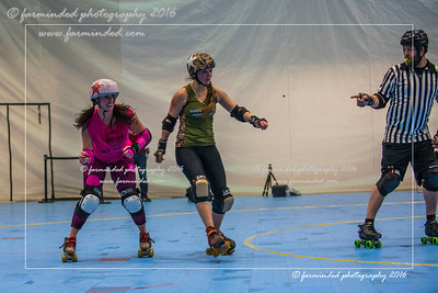 11/26/2016 - Roller Derby - Old School Vs New School