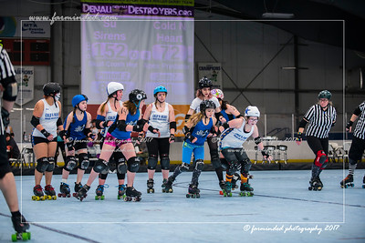 Bout 3 - Su Sirens Vs Cold N' Heart