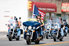 The annual POW/MIA Rolling Thunder run