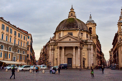From Piazza Del Popolo