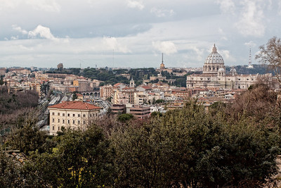 View from Piazzale Giuseppe Garibaldi