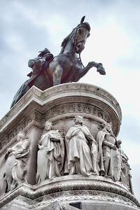 Monumento a Vittorio Emanuele II detail