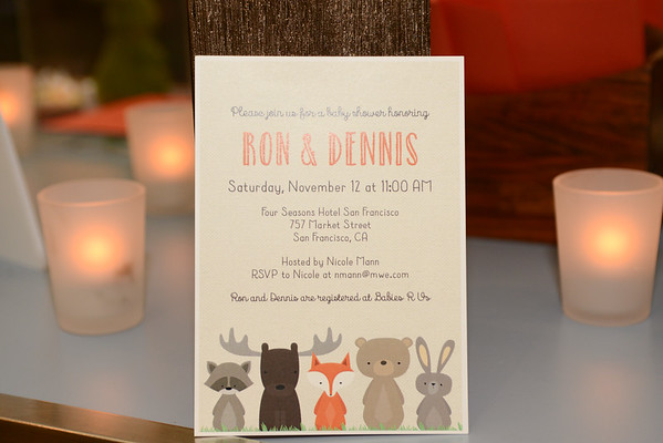 Ron & Dennis Baby Shower at the Four Seasons
