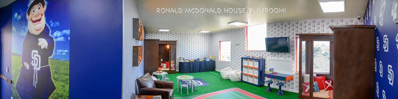 Ronald McDonald House Playroom Dedication